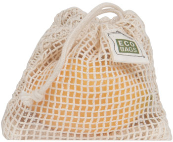 ECOBAGS Natural Cotton Soap Bag
