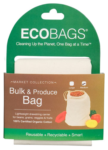 ECOBAGS® Market Collection Organic Cloth Bulk & Produce Bag - Medium
