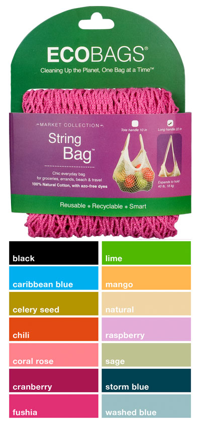 String Bag Long Handle Market Collection