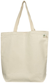 Reusable Canvas Shopping Tote Bag Recycled Cotton Promotional