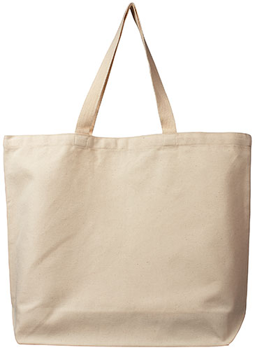 ECOBAGS GOTS Organic Cotton Reusable Canvas Tote Bag
