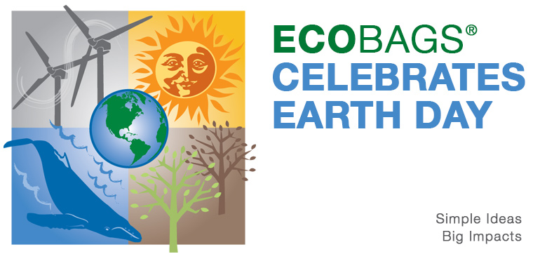 ECOBAGS® Earth Day slide