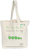 Bugged Out Caterpillar Canvas Tote Bag