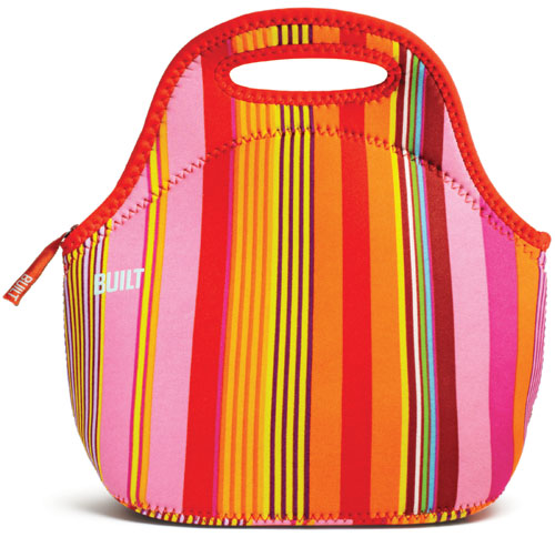 BUILT Nolita Stripe Gourmet Getaway Lunch Bag