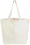 ECOBAGS Natural Cotton Shopping Tote