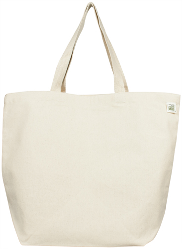 Ecobags Canvas Tote Bag Recycled Cotton Reusable