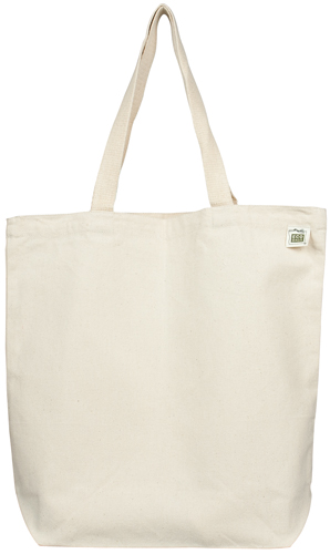 ECOBAGS Recycled Cotton Promo/Book Tote