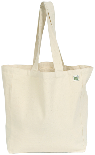 ECOBAGS Recycled Cotton Tote with Pocket