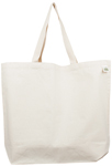 ECOBAGS Recycled Cotton Mid-Weight Shopping Tote