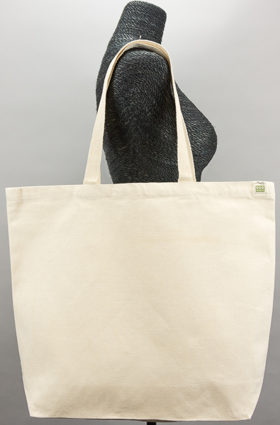 1342163d2 ECOBAGS Canvas Tote Bag - Natural Cotton Reusable Shopping Bag ...