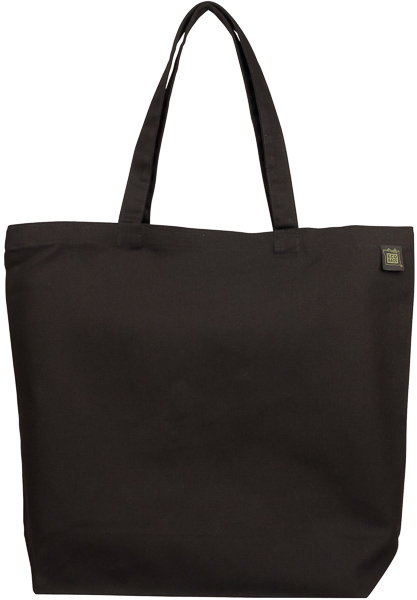 df3fe90f8056 ECOBAGS Canvas Tote Bag Natural Cotton Black Reusable Shopping bag ...