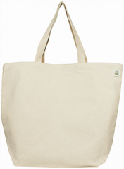 ECOBAGS Canvas Tote Bag - Recycled Cotton Reusable Shopping Bag ...