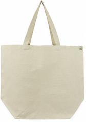 ECOBAGS® Recycled Cotton Reusable Shopping Tote Bag