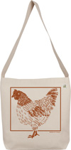 ECOBAGS Designs Chicken Sling Bag