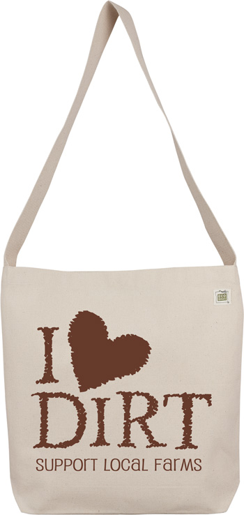 "ECOBAGS Designs ""I Love Dirt"" Sling Bag"