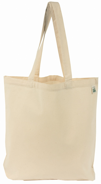 Recycled Cotton Lightweight Promo Book Tote Main