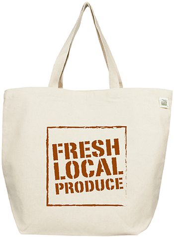ECOBAGS Fresh Local Produce Tote Bag