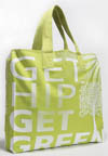 Get Hip Get Green Partially Recycled Canvas Tote