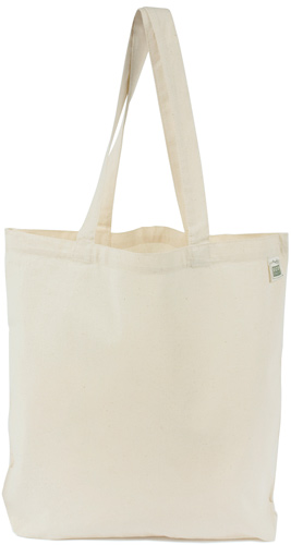 Recycled Cotton Lightweight Promo/Book Tote
