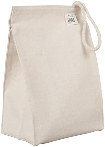 ECOBAGS Organic Cotton Canvas Lunch Bag