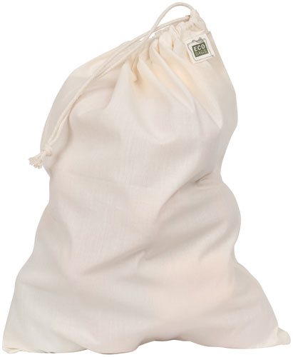 ECOBAGS Reusable Produce Bags Natural Cotton Full Size