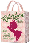 Rebel Green Pretty Planet Shopping Tote