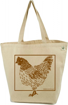 ECOBAGS Designs Farmers Market Collection - Chickens