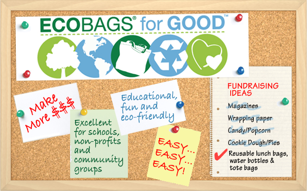 ECOBAGS for GOOD - Fundraising Initives
