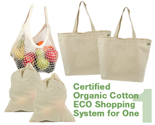 Organic ECO Shopping System for One