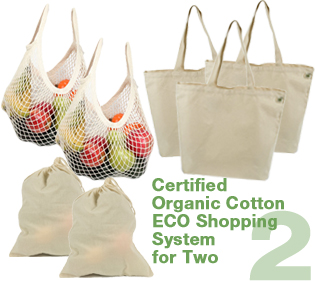 Organic ECO Shopping System for Two