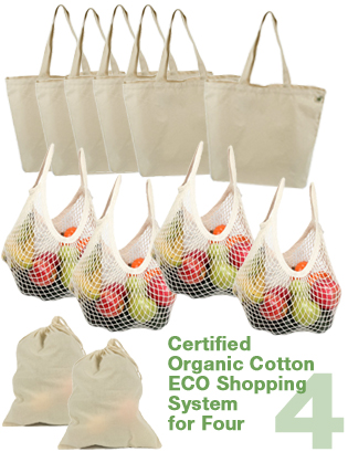 Organic ECO Shopping System for Four